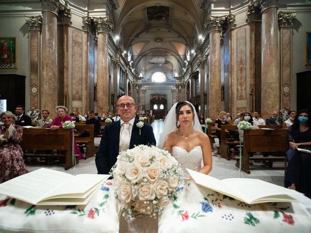 Il matrimonio di Alessandro e Jessica a Parabiago, Milano 45