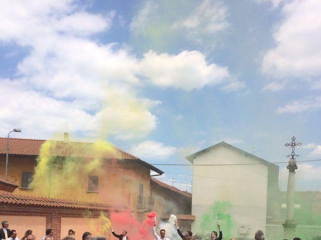 Il matrimonio di Mauro e Monica a Cavaglietto, Novara 32