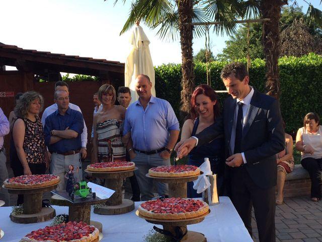 Il matrimonio di Mauro e Monica a Cavaglietto, Novara 48