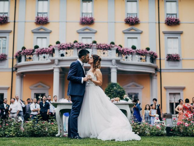 le nozze di Daniela e Nando