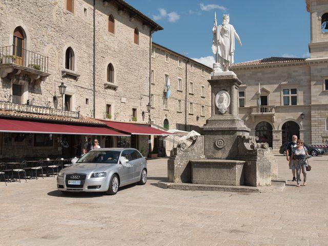 Il matrimonio di Miky e Elisa a San Marino, San Marino 1