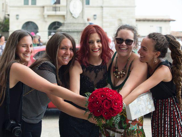 Il matrimonio di Miky e Elisa a San Marino, San Marino 3