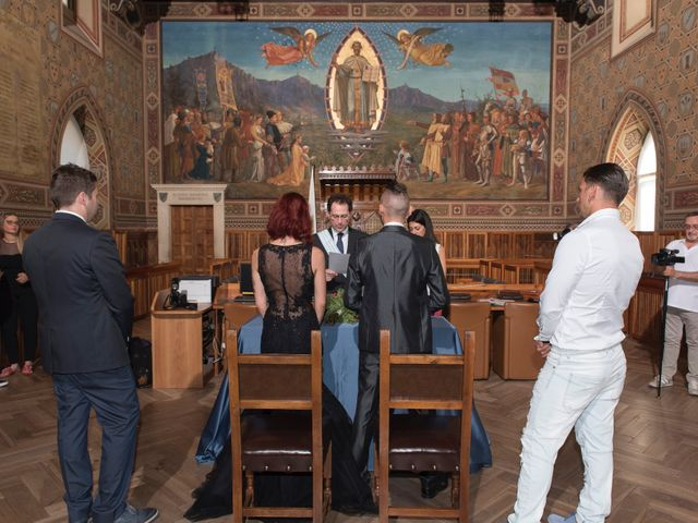 Il matrimonio di Miky e Elisa a San Marino, San Marino 7