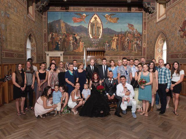 Il matrimonio di Miky e Elisa a San Marino, San Marino 10