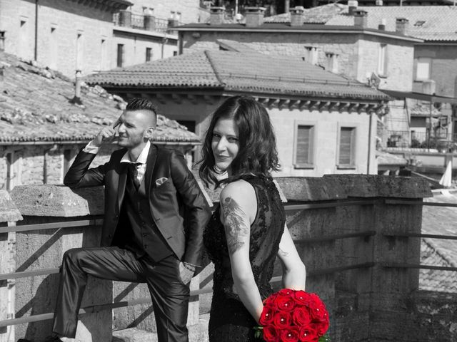 Il matrimonio di Miky e Elisa a San Marino, San Marino 12