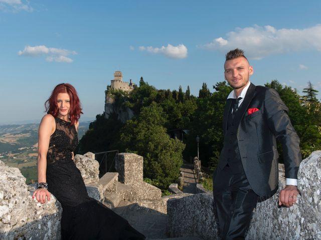 Il matrimonio di Miky e Elisa a San Marino, San Marino 29