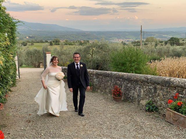 Il matrimonio di Chiara e Cristiano a Reggello, Firenze 12