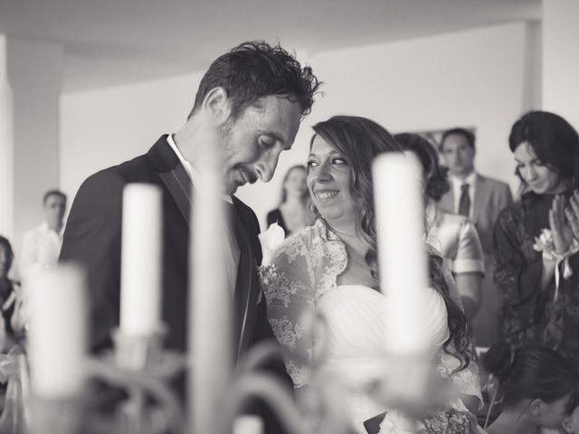 le nozze di Sara e Costantino