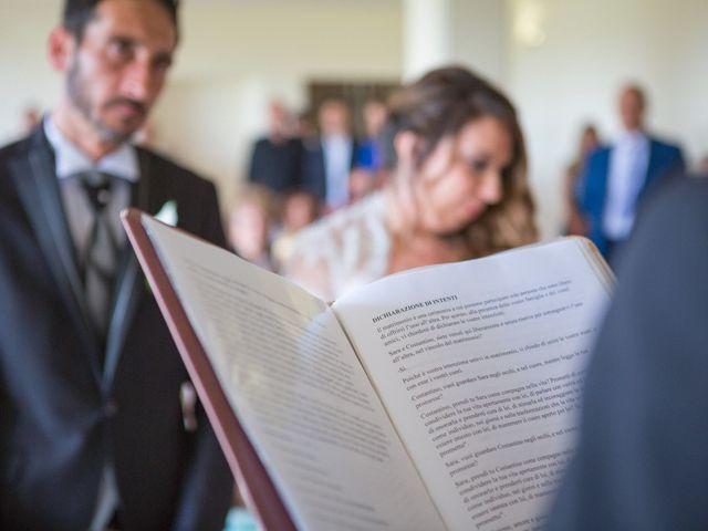 Il matrimonio di Costantino e Sara a Montespertoli, Firenze 29