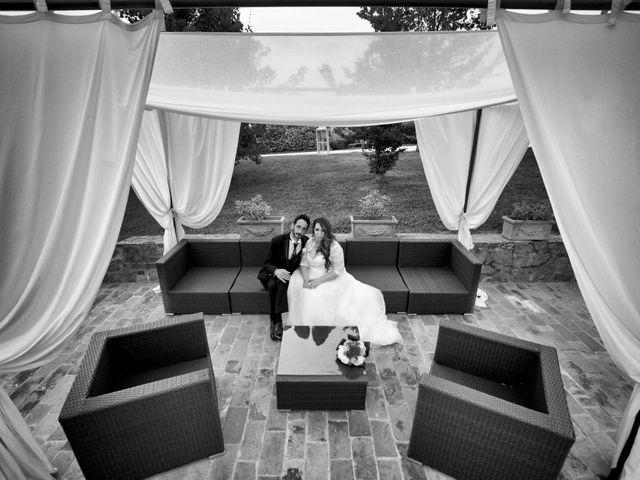 Il matrimonio di Costantino e Sara a Montespertoli, Firenze 45