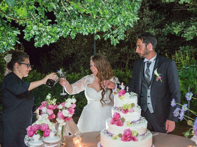 Il matrimonio di Costantino e Sara a Montespertoli, Firenze 55