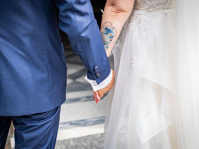 Il matrimonio di Paolo e Gloria a Uggiate -Trevano, Como 17