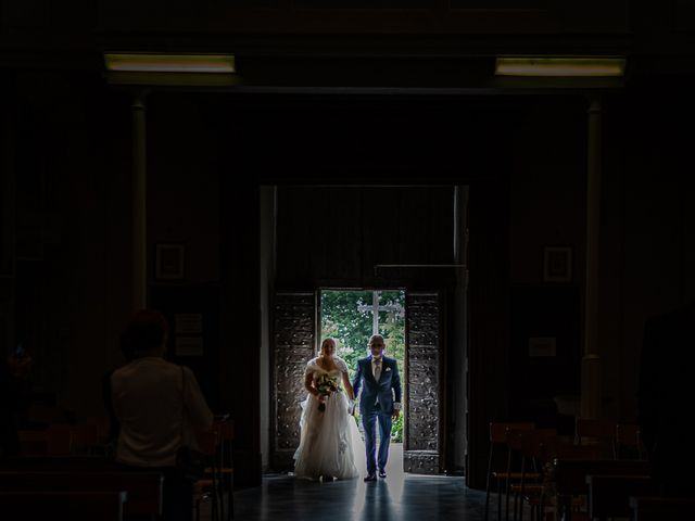 Il matrimonio di Paolo e Gloria a Uggiate -Trevano, Como 18