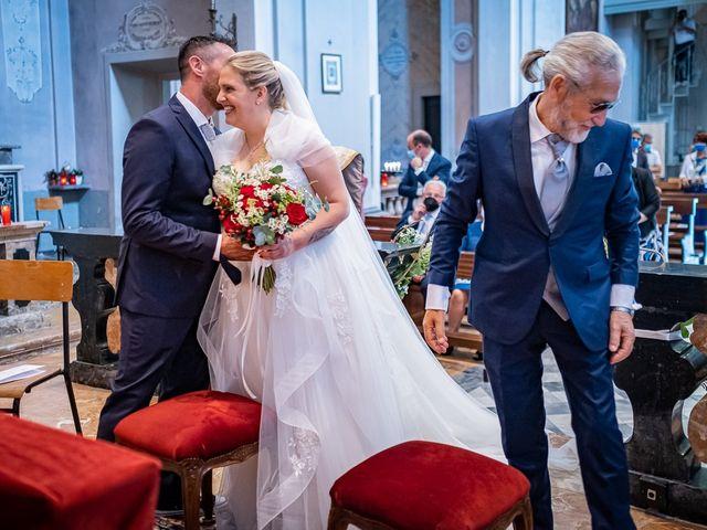 Il matrimonio di Paolo e Gloria a Uggiate -Trevano, Como 19