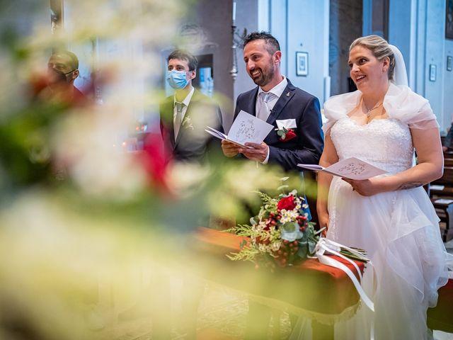 Il matrimonio di Paolo e Gloria a Uggiate -Trevano, Como 20