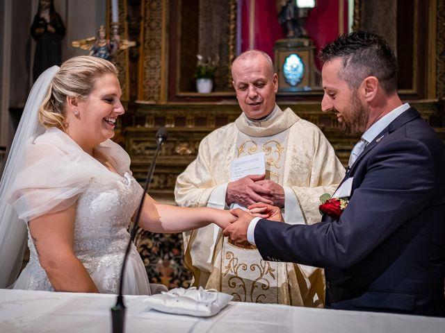 Il matrimonio di Paolo e Gloria a Uggiate -Trevano, Como 25