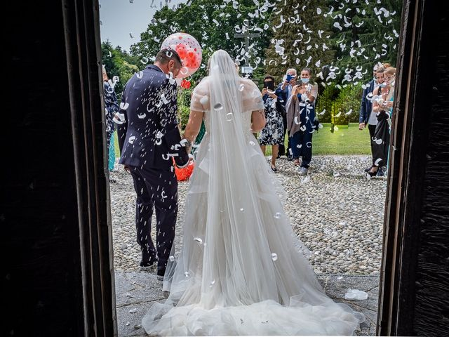 Il matrimonio di Paolo e Gloria a Uggiate -Trevano, Como 31