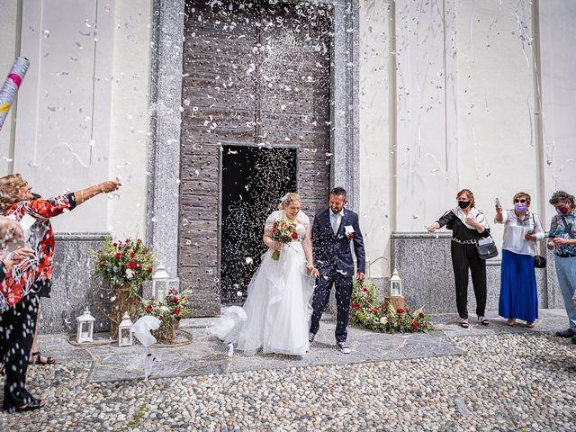 Il matrimonio di Paolo e Gloria a Uggiate -Trevano, Como 32