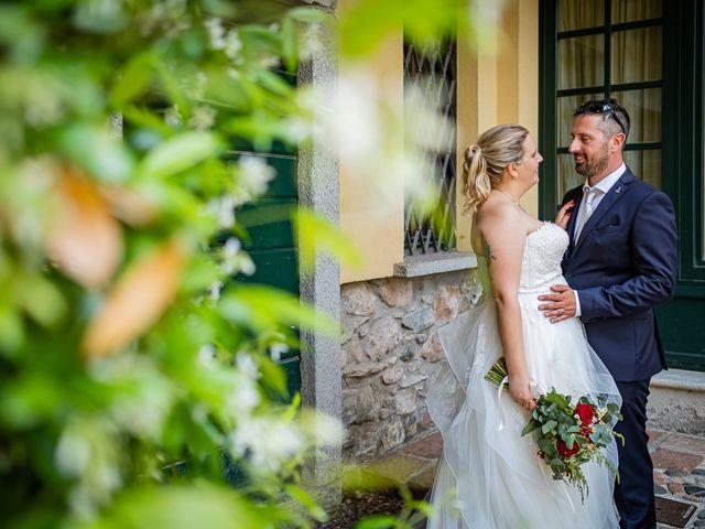 Il matrimonio di Paolo e Gloria a Uggiate -Trevano, Como 33