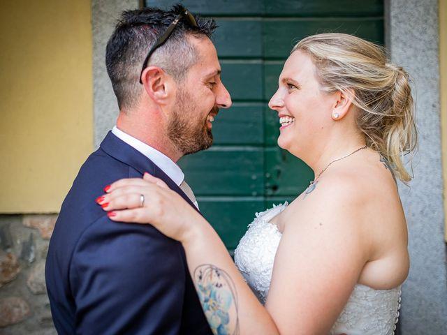 Il matrimonio di Paolo e Gloria a Uggiate -Trevano, Como 34