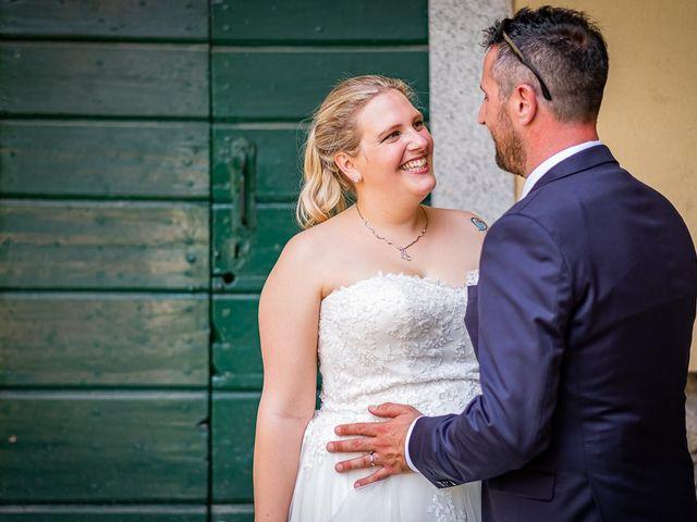 Il matrimonio di Paolo e Gloria a Uggiate -Trevano, Como 36