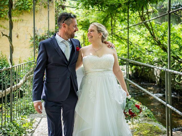 Il matrimonio di Paolo e Gloria a Uggiate -Trevano, Como 41