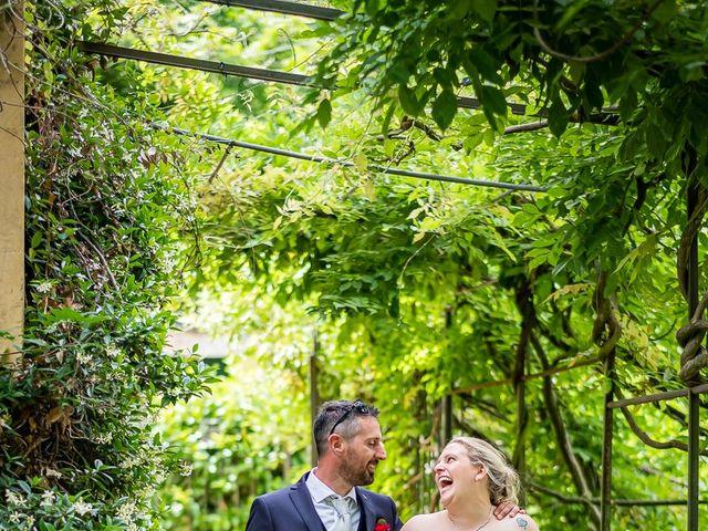 Il matrimonio di Paolo e Gloria a Uggiate -Trevano, Como 1