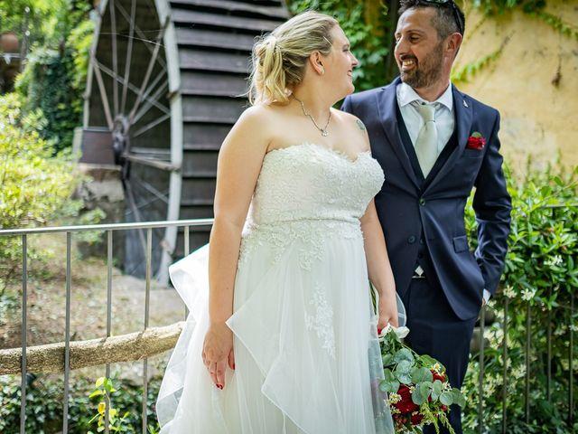 Il matrimonio di Paolo e Gloria a Uggiate -Trevano, Como 44