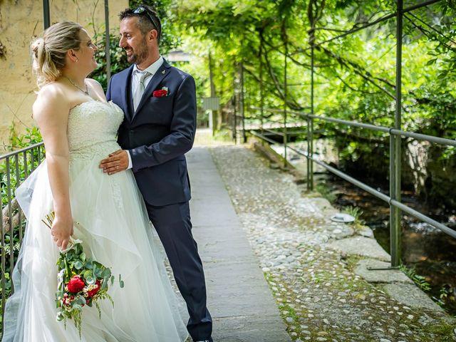Il matrimonio di Paolo e Gloria a Uggiate -Trevano, Como 46