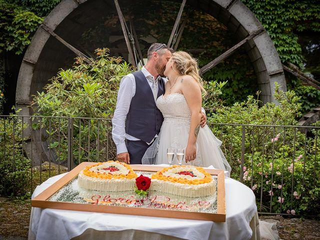 Il matrimonio di Paolo e Gloria a Uggiate -Trevano, Como 55