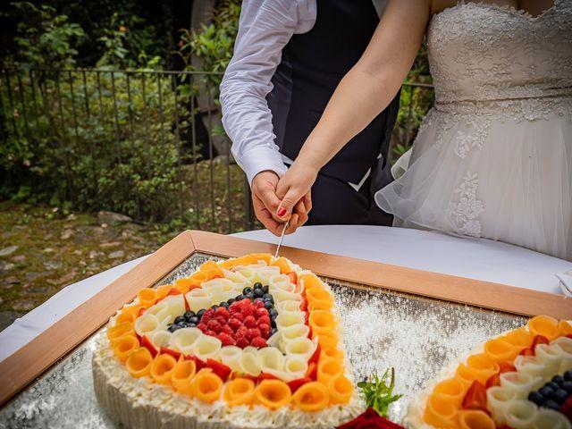 Il matrimonio di Paolo e Gloria a Uggiate -Trevano, Como 57