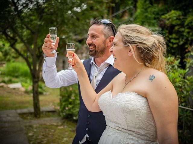 Il matrimonio di Paolo e Gloria a Uggiate -Trevano, Como 59