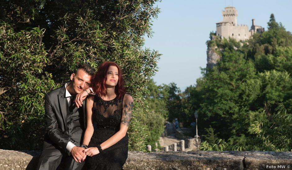 Il matrimonio di Miky e Elisa a San Marino, San Marino