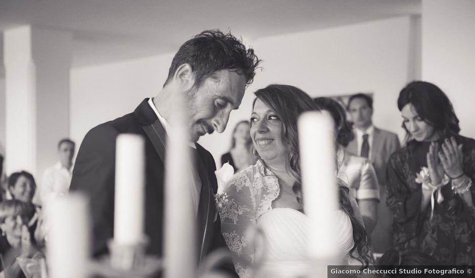 Il matrimonio di Costantino e Sara a Montespertoli, Firenze