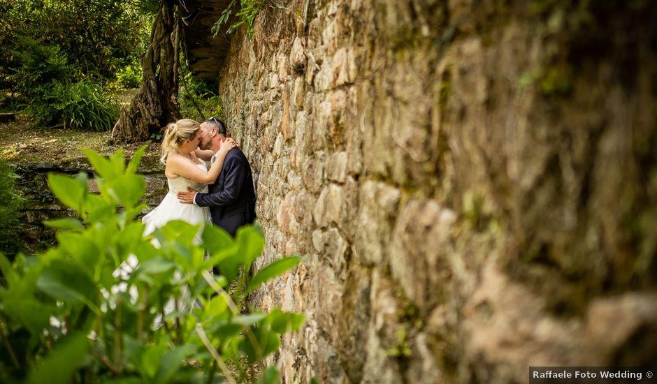 Il matrimonio di Paolo e Gloria a Uggiate -Trevano, Como