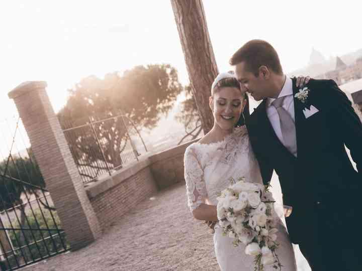 le nozze di Francesca Romana e Alessio