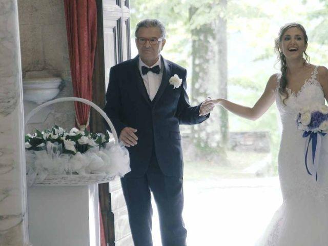 Il matrimonio di Giuliano e Silvia a Seravezza, Lucca 15