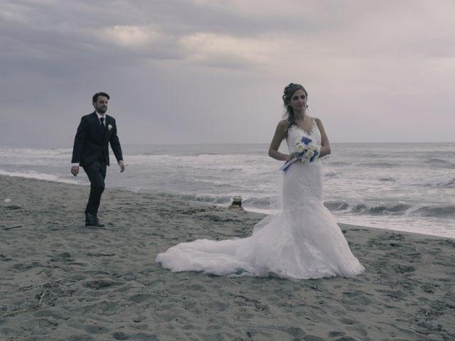 Il matrimonio di Giuliano e Silvia a Seravezza, Lucca 33