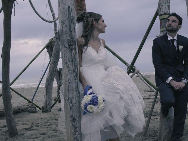 Il matrimonio di Giuliano e Silvia a Seravezza, Lucca 41