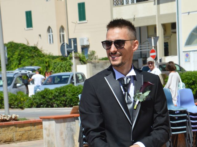 Il matrimonio di Francesco e Stefania a Campiglia Marittima, Livorno 8