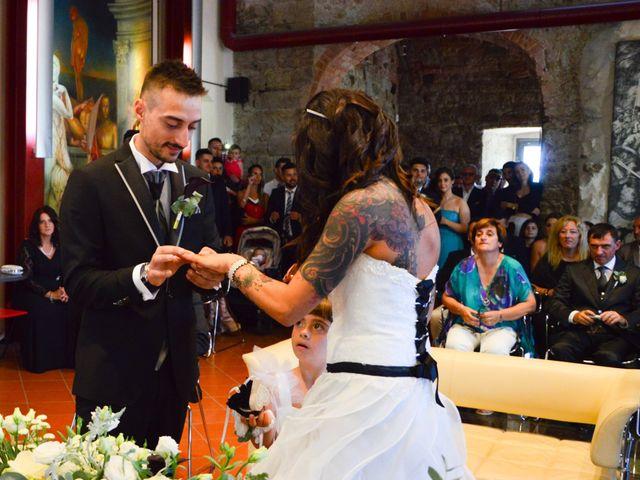 Il matrimonio di Francesco e Stefania a Campiglia Marittima, Livorno 11