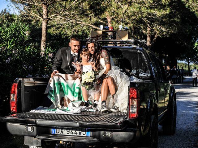 Il matrimonio di Francesco e Stefania a Campiglia Marittima, Livorno 25