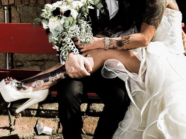 Il matrimonio di Francesco e Stefania a Campiglia Marittima, Livorno 41