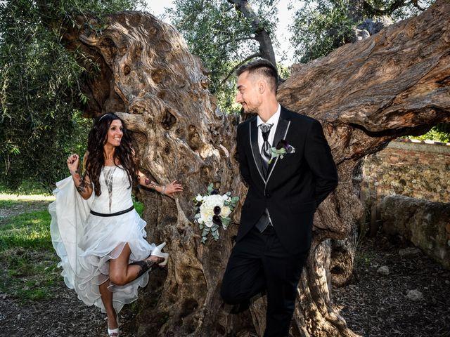 Il matrimonio di Francesco e Stefania a Campiglia Marittima, Livorno 1