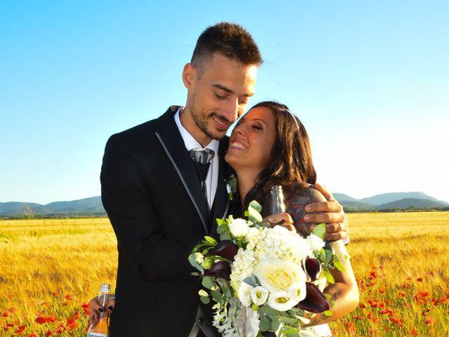 Il matrimonio di Francesco e Stefania a Campiglia Marittima, Livorno 43
