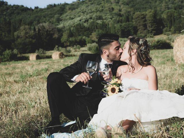 Il matrimonio di Francesco e Azzurra a Suvereto, Livorno 12