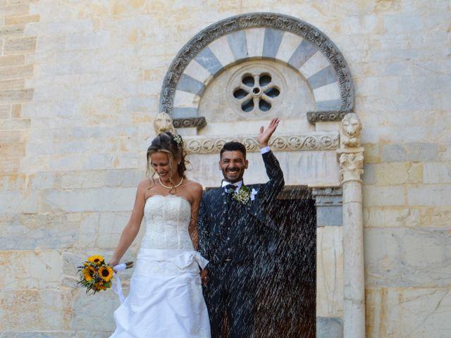 Il matrimonio di Francesco e Azzurra a Suvereto, Livorno 19