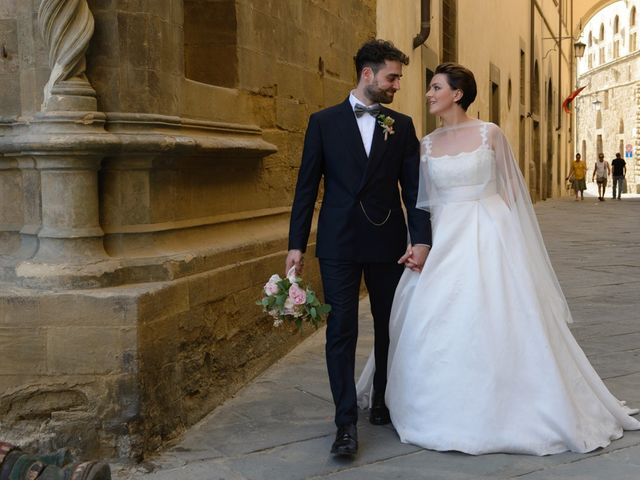 Il matrimonio di Fabio e Letizia a Arezzo, Arezzo 144