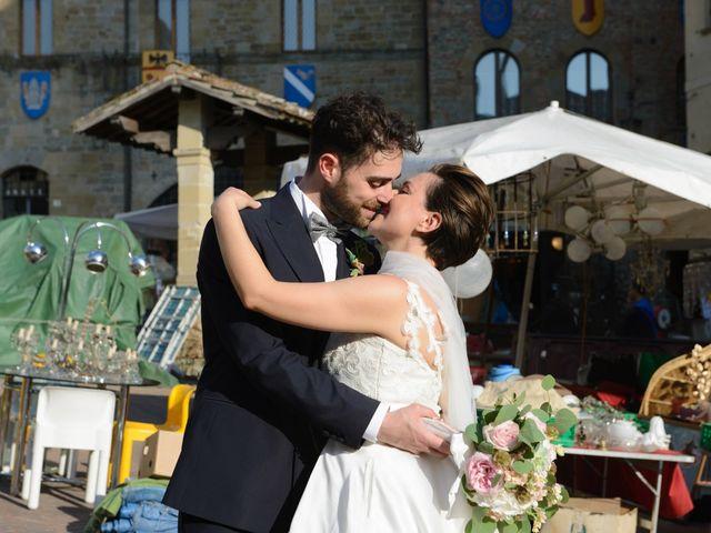 Il matrimonio di Fabio e Letizia a Arezzo, Arezzo 145