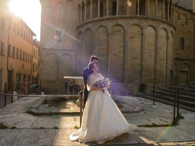 Il matrimonio di Fabio e Letizia a Arezzo, Arezzo 148
